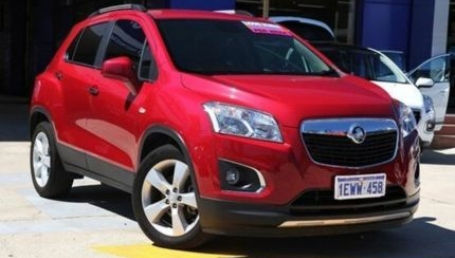 sell my car – holden trax red