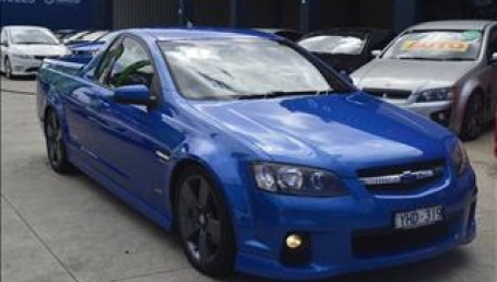 sell my car – holden ute blue