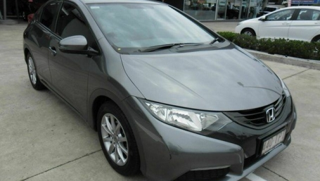 sell my car – honda civic grey