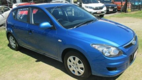 sell my car – hyundai i30 blue
