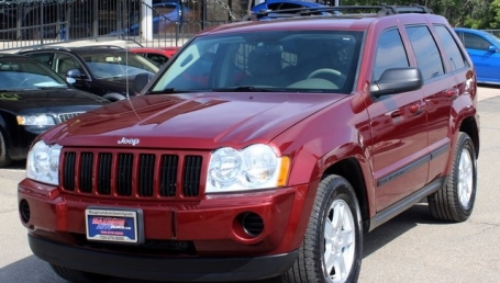sell my car – jeep grand cherokee red