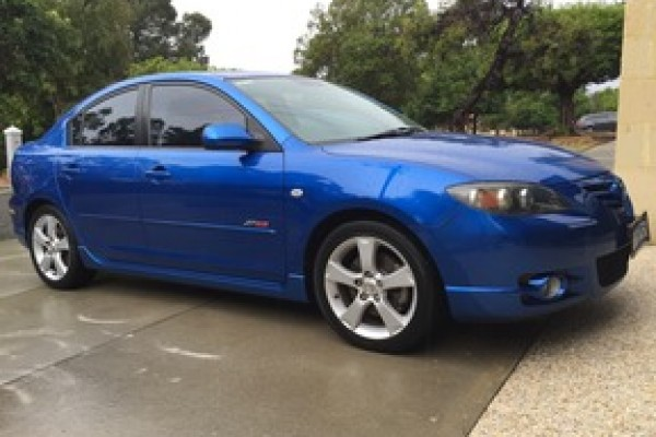 sell my car – mazda blue