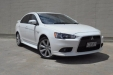 sell my car - mitsubishi lancer white