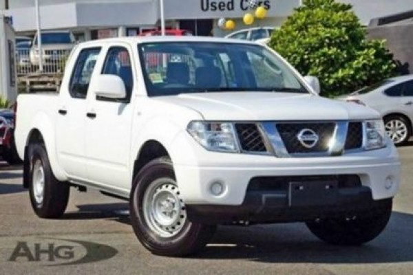 sell my car - nissan navara white