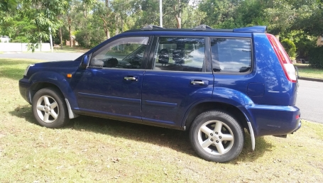 sell my car – nissan xtrail blue