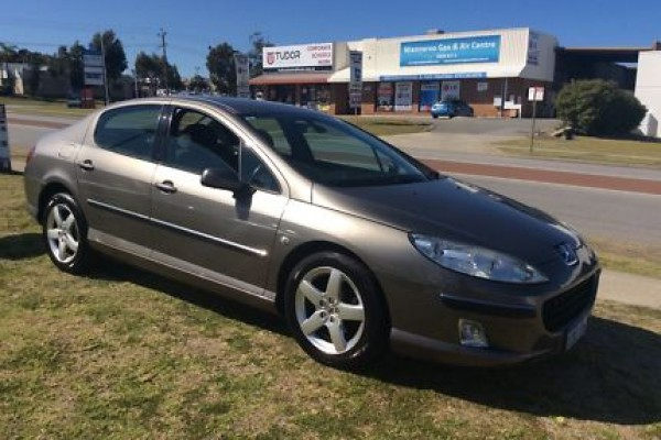 sell my car - peugeot grey