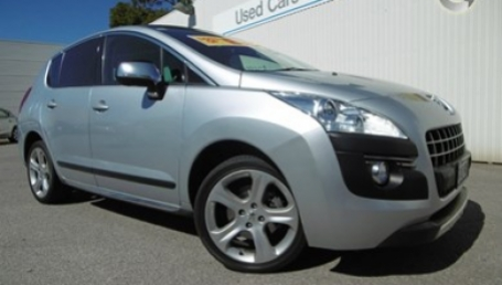 sell my car – peugeot silver
