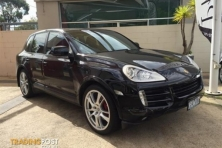sell my car – porsche cayenne black