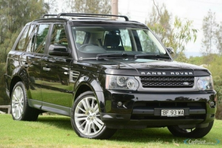 sell my car – range rover black