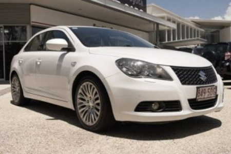 sell my car – suzuki kizashi white