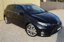 sell my car – toyota corolla black