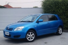 sell my car – toyota corolla blue