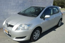 sell my car – toyota corolla silver