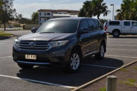 sell my car – toyota kluger black