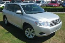 sell my car – toyota kluger silver