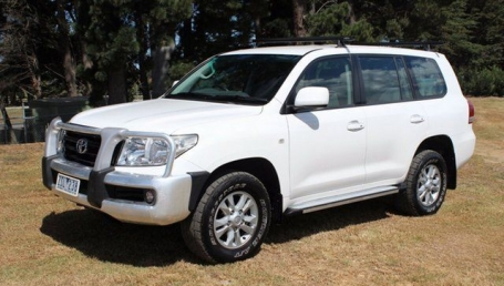 sell my car – toyota land cruiser white