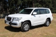 sell my car - toyota land cruiser white