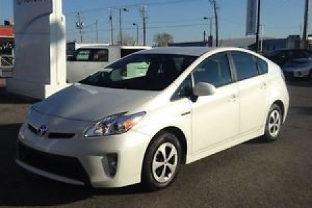 sell my car – toyota prius white