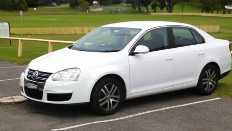 sell my car – volkswagen jetta white