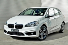sell my car – BMW 218d white