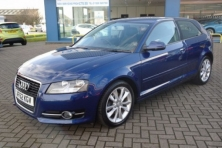 sell my car – audi a3 blue
