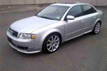 sell my car – audi a4 silver