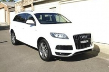 sell my car – audi q7 white