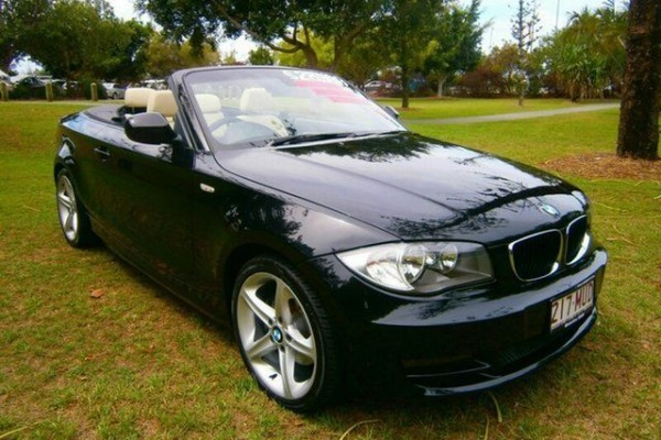 sell my car - bmw 120i black