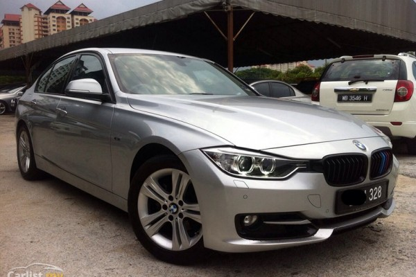 sell my car  – bmw 320i silver