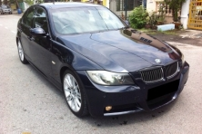 sell my car – bmw 325i black