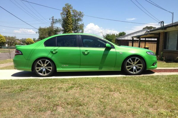 sell my car – ford falcon green