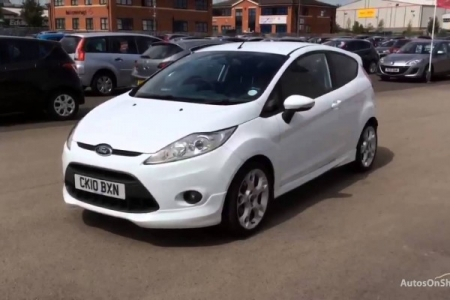 sell my car – ford fiesta white
