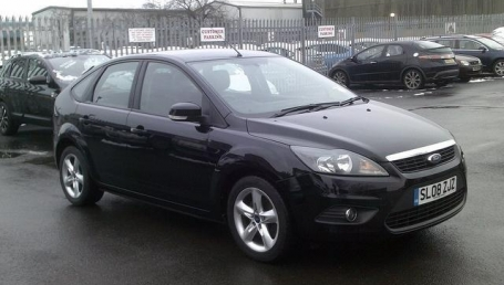 sell my car – ford focus black