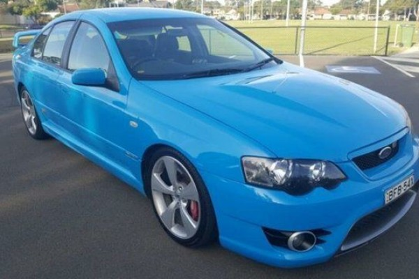 sell my car – ford fpv blue