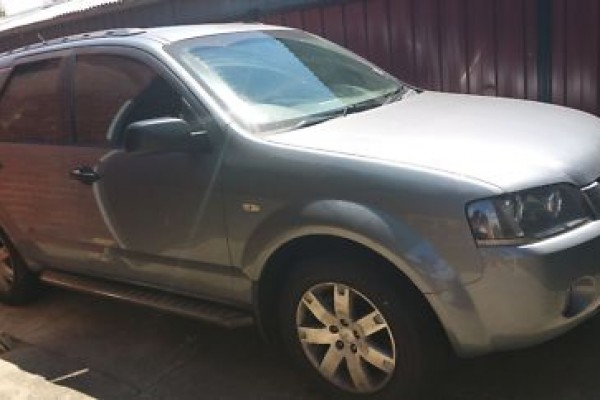 sell my car - ford territory grey