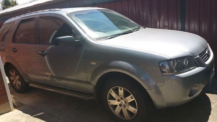 sell my car – ford territory grey