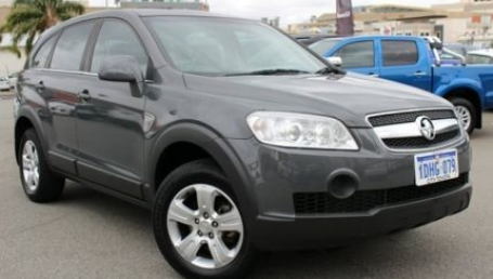 sell my car – holden captiva grey