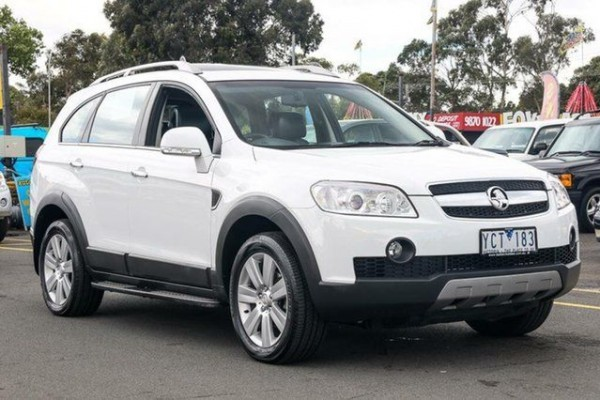 sell my car - holden captiva white