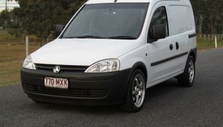 sell my car – holden combo white