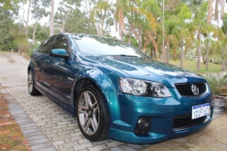 sell my car – holden commodore blue