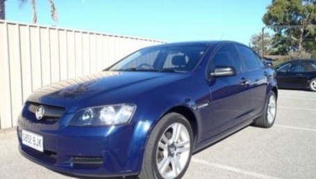 sell my car – holden commodore blue'