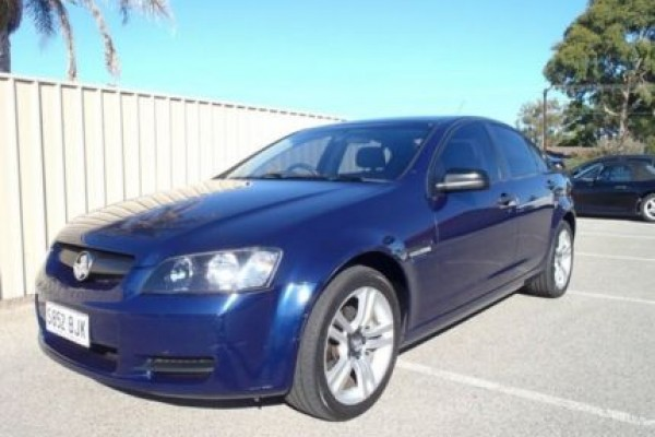 sell my car - holden commodore blue'