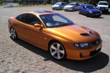sell my car – holden monaro orange