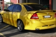 sell my car - holden sv6 yellow
