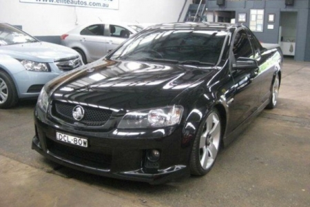 sell my car – holden ute black