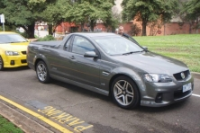 sell my car – holden ute grey