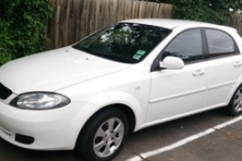 sell my car – holden viva white