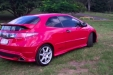 sell my car - honda civic red
