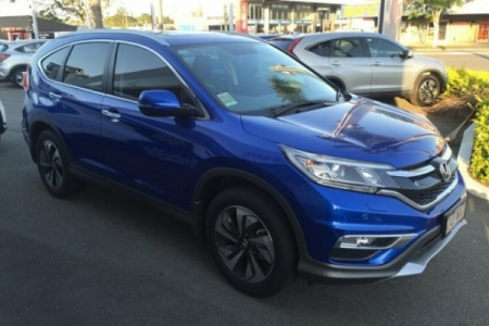 sell my car – honda crv blue