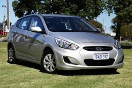 sell my car – hyundai accent silver